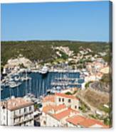 Bonifacio Harbor Canvas Print
