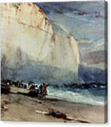 Bonington, Cliff, 1828 Canvas Print