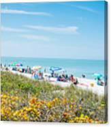 Bonita Beach Canvas Print