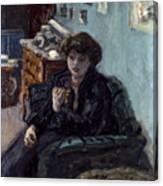 Bonnard: Lady, 19th C Canvas Print