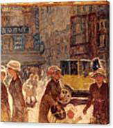 Bonnard: Place Clichy Canvas Print