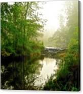Bonneyville Mill Waterfall Canvas Print