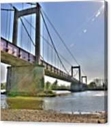 Bonny Bridge Canvas Print