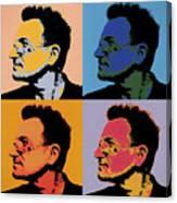 Bono Pop Panels Canvas Print