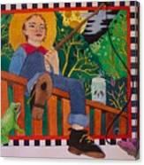 book illustration - Tom Sawyer Canvas Print