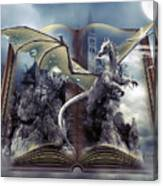 Book Of Fantasies Canvas Print