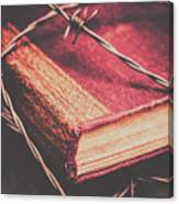 Book Of Secrets, High Security Canvas Print