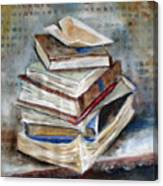 Books Gerdasmitart Canvas Print