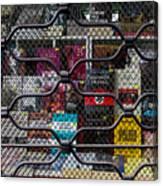Books In Prison Canvas Print