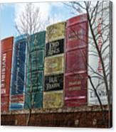 Books Plus Kansas City Canvas Print