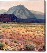 Bookshelf Mesa Canvas Print