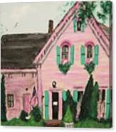 Bookstore In Cape Cod Canvas Print