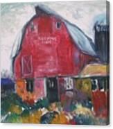 Boompa's Barn Canvas Print