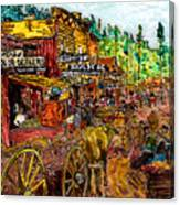 Boomtown 1876 Canvas Print