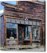 Boone Store And Warehouse Canvas Print
