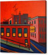 Boonton Diner Canvas Print