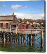 Boothbay Harbor 02287 Canvas Print