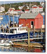 Boothbay Canvas Print