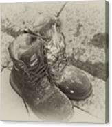 Boots Reno Canvas Print