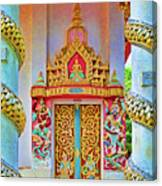 Bophut Temple In Thailand Canvas Print