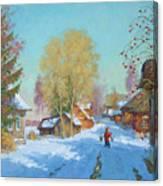 Bor Village Canvas Print