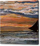 Boracay Sunset Canvas Print