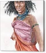 Boran Woman Canvas Print