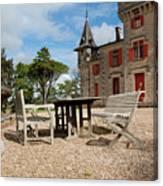 Bordeaux Chateau Canvas Print