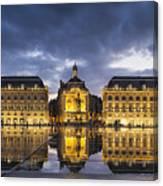 Bordeaux Place De La Bourse  Canvas Print