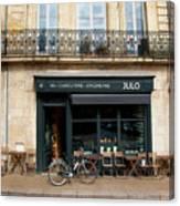 Bordeaux Storefront Canvas Print