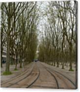 Bordeaux Tram Canvas Print