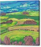 Border Country Canvas Print