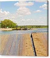 Border On Zambezi River Canvas Print