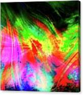 Borealis Explosion Rupture Canvas Print