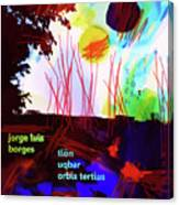 Borges Tlon Poster 2 Canvas Print