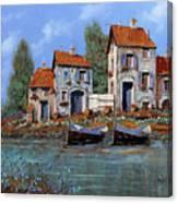 Borgo Viola Canvas Print