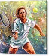 Boris Becker Canvas Print