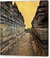 Borobudur Temple Canvas Print