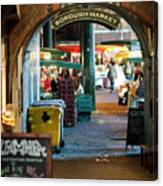 Borough Market Canvas Print