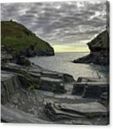 Boscastle Headland Canvas Print