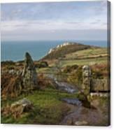 Bosigran In North Cornwall Canvas Print