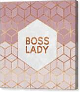 Boss Lady Canvas Print