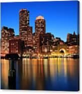 Boston Aglow Canvas Print