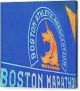 Boston Athletic Association - Boston Marathon Canvas Print