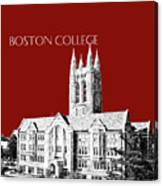 Boston College - Maroon Canvas Print