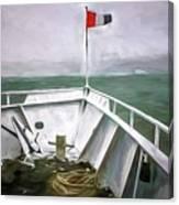 Boston Harbor Cruise  Canvas Print