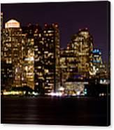 Boston Massachusetts - Panoramic Canvas Print