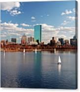 Boston On The Charles  Canvas Print