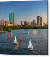 Boston Skyline Summer 2018 Canvas Print