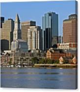 Boston Waterfront Canvas Print
